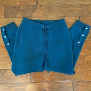 Anthropologie Saturday Sunday Terry Cropped Jogger